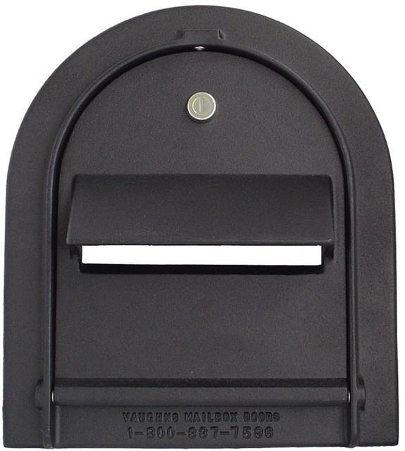 Large Locking Mailbox Door Front View