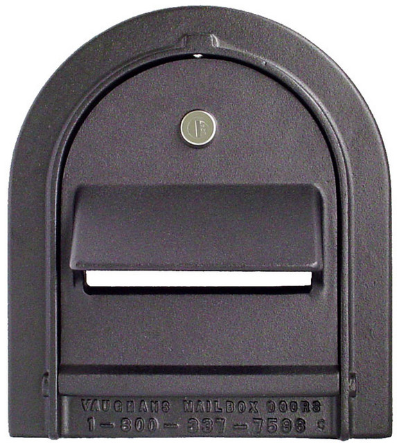 Small Locking Mailbox Door Front View
